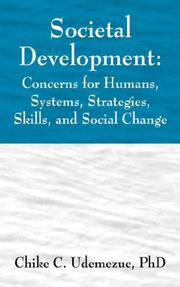 Cover of: Societal Development | Chike Udemezue
