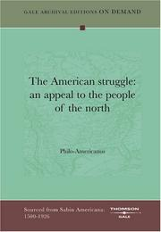 Cover of: The American struggle | Philo-Americanus