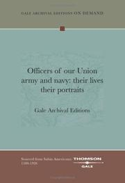 Cover of: Officers of our Union army and navy | Gale Archival Editions