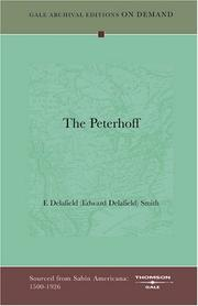 Cover of: The Peterhoff | E[dward] Delafield Smith