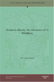 Cover of: Southern chivalry | Gale Archival Editions