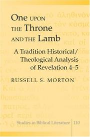 Cover of: One upon the Throne and the Lamb | Russell S. Morton