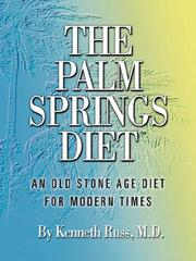 Cover of: The Palm Springs Diet | Kenneth Russ MD