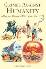 Cover of: Crimes Against Humanity | Chaitanya Davé
