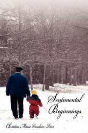Cover of: Sentimental Beginnings | Christine, Marie Vaudrin-Rios