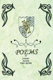 Cover of: Poems of James Alan Van Howe | James Alan Van Howe
