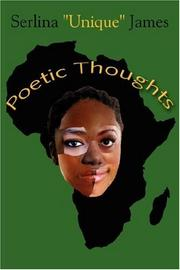 Cover of: Poetic Thoughts | Serlina James
