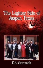 Cover of: The Lighter Side of Jasper, Texas | E.A. Savannah