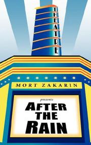 Cover of: After The Rain by Mort Zakarin