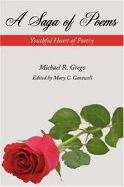 Cover of: A Saga of Poems | Michael R. Grego