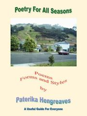 Cover of: Poetry For All Seasons | Paterika Hengreaves