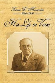 Cover of: His Life in Verse by Francis D. Moscardini