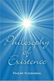 Cover of: Philosophy of Existence | Maziar Khoshsima