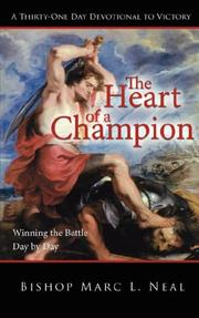 Cover of: The Heart of a Champion | Bishop Marc L. Neal