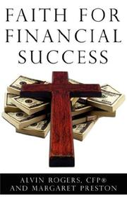Cover of: Faith for Financial Success | Alvin Rogers