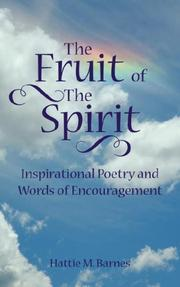 Cover of: The Fruit of The Spirit | Hattie M. Barnes