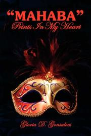 "Cover of: ""MAHABA"" Prints In My Heart by Gloria D. Gonsalves"