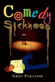 Cover of: Comedy Sickness | Greg Pahanish