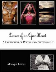 Cover of: Diaries of an Open Heart | Monique Lumas