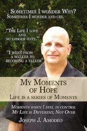Cover of: My Moments of Hope | Joseph J. Amodeo