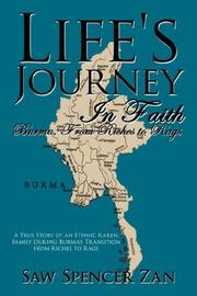 Cover of: Life's Journey In Faith | Saw Spencer Zan