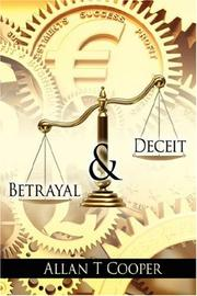 Cover of: Betrayal and Deceit | Allan, T Cooper