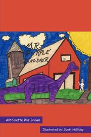 Cover of: Mr. Purple Dinosaur | Antoinette, Rae Brown