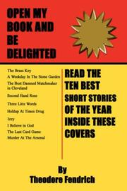 Cover of: Ten Best Short Stories of the Year | Theodore Fendrich