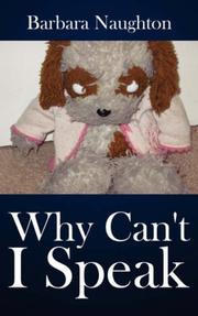 Cover of: Why Can't I Speak | Barbara Naughton