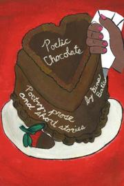 Cover of: Poetic Chocolate | Gina Batie