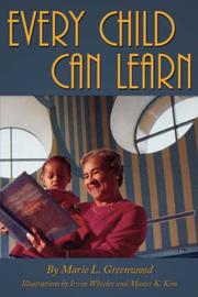 Cover of: Every Child Can Learn | Marie, L. Greenwood