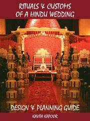 Cover of: Rituals  and  Customs of a Hindu Wedding | Kavita Kapoor