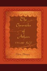 Cover of: The Chronicles of Athan by Thos. Pinney