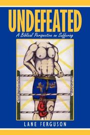 Cover of: Undefeated | Lane Ferguson