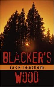 Cover of: Blacker's Wood | Jack Leathem