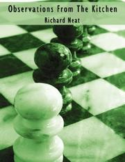 Cover of: Observations From The Kitchen | Richard Neat