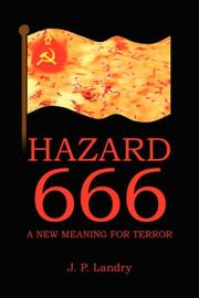 Cover of: Hazard 666 | J. P. Landry
