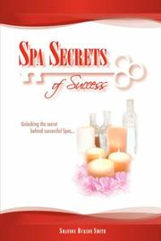 Cover of: Spa Secrets of Success | Shannon, Burson Smith