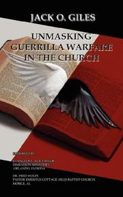 Cover of: Unmasking Guerrilla Warfare in the Church | Jack O. Giles
