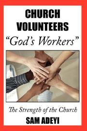 "Cover of: Church Volunteers, ""God's Workers"": God's Volunteers 