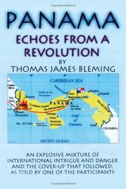 Cover of: Panama-Echoes From A Revolution | Thomas, James Bleming