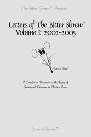 Cover of: The Bitter Shrew | Esquibel Communications Company