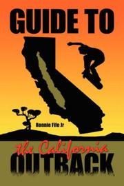 Cover of: Guide to the California Outback | Ronnie Fife Jr