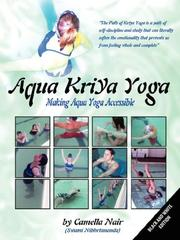 Cover of: Aqua Kriya Yoga | Camella Nair
