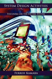 Cover of: System Design Activities | Ferreh Kamara