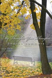 Cover of: My Thoughts Your Thoughts by Sharon Sommers