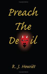 Cover of: Preach the Devil | R. J. Hewitt