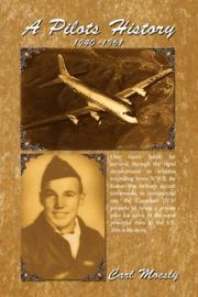 Cover of: A Pilots History | Carl Moesly