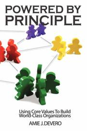 Cover of: Powered by Principle by Amie, J. Devero