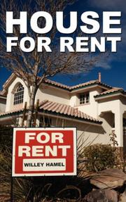 Cover of: House for Rent | Willey Hamel